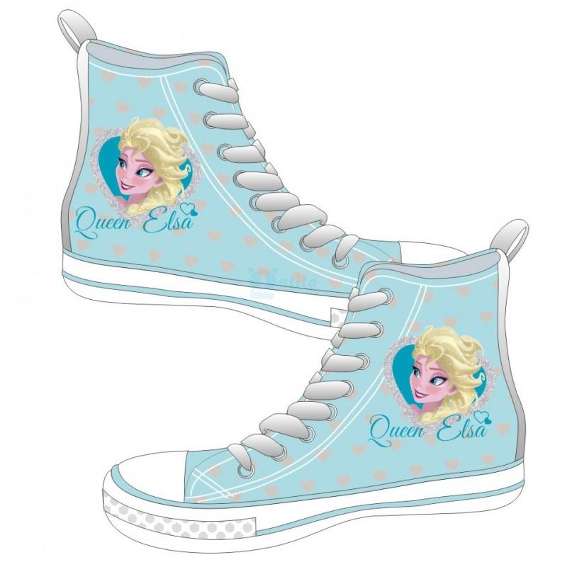 Frozen Sneaker blau