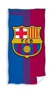 FC Barcelona Badetuch Strandtuch blau-rot