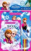 Frozen Spielpaket Malbuch mit Stifte